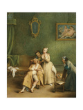 The Tickle, C. 1755 Giclee Print by Pietro Longhi
