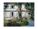The House at Rueil, 1882 Giclee Print by Edouard Manet