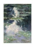 Pond with Water Lilies, 1907 Lámina giclée por Claude Monet