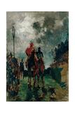 The Jockeys, 1882 Lámina giclée por Henri de Toulouse-Lautrec