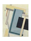 Proun 4 B, 1919-1920 Giclee-trykk av El Lissitzky
