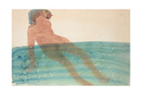 Bathing Woman, C.1901-1902 Giclee Print by Auguste Rodin