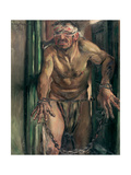 The Blinded Samson, 1912 Gicléetryck av Lovis Corinth