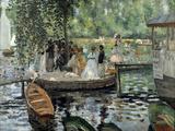 La Grenouillère, 1869 Giclée-Druck von Pierre-Auguste Renoir