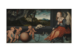Melancholy, 1532 Giclee Print by Lucas Cranach the Elder