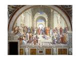 The School of Athens, 1509-1511 Reproduction procédé giclée par  Raphael