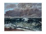 The Wave, 1867-1869 Reproduction procédé giclée par Gustave Courbet