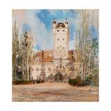 Greillenstein Castle, 1885-1886 Giclee Print by Anton Romako