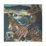 The Defense of the Sampo, 1896 Gicléedruk van Akseli Gallen-Kallela