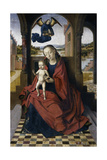 The Madonna and Child, 1460S ジクレープリント : ペトルス・クリストゥス