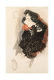 Study for Judith II, C. 1908 Giclée-Druck von Gustav Klimt
