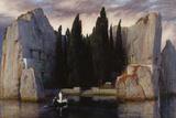 Isle of the Dead, 1883 Giclée-vedos tekijänä Arnold Böcklin