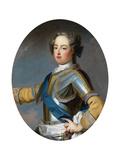Portrait of the King Louis XV (1710-177), 1720S Giclée-Druck von Jean Baptiste Van Loo