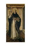 Saint Dominic, 1493-1499 Giclée-tryk af Pedro Berruguete