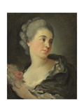 Portrait of Marie-Thérèse Colombe Reproduction procédé giclée par Jean-Honoré Fragonard