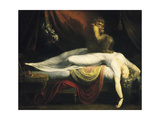 The Nightmare I, 1781 Giclee Print by Johann Heinrich Füssli