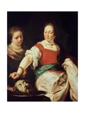 Salome, after 1630 Stampa giclée di Bernardo Strozzi