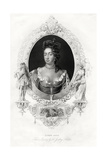 Queen Anne, 1860 Giclee Print by Godfrey Kneller