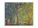 Trauerweide Giclée-Druck von Claude Monet