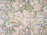 シャクヤク, 1897 ジクレープリント : アルフォンス・ミュシャ