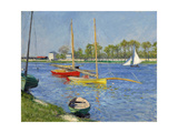 The Seine at Argenteuil, 1882 Giclee Print by Gustave Caillebotte