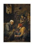 The Surgeon, 1630-1640 Giclée-Druck von David Teniers the Younger