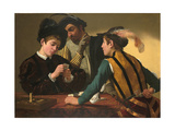 The Cardsharps Giclee Print by  Caravaggio