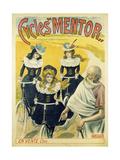 Cycles Mentor, Ca 1896 Lámina giclée