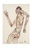The Dancer, 1913 Giclee Print by Egon Schiele