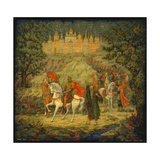 Grand Prince Oleg the Seer, 1957 Giclee-trykk av Vasily Dmitryevich Puzanov-Molev