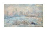Frost, 1880 Giclée-Druck von Claude Monet