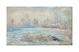 Frost, 1880 Giclee Print by Claude Monet