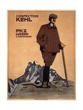 Confection Kehl, 1908 Gicléetryck av Emil Cardinaux