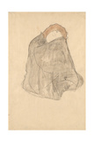 Woman Seated, 1908-1909 Giclée-Druck von Gustav Klimt