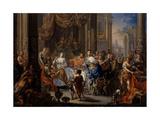 Cleopatra's Feast Lámina giclée por Johann Georg Platzer