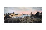 View of Pont Neuf, Paris, C1635 Giclee Print
