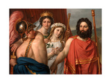 The Anger of Achilles Giclee Print by Jacques Louis David