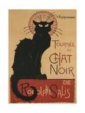 Tournee Du Chat Noir, 1896 Giclee Print by Théophile Alexandre Steinlen