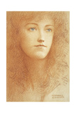 A Young Englishwoman Giclee Print by Fernand Khnopff