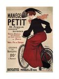 Manège Petit, 1899 Lámina giclée por Adrien Barrère
