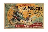 Voiturette La Mouche, 1900 Giclée-vedos tekijänä Francisco Tamagno