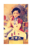 Shanghai Advertising Poster, C1930s Giclée-Druck