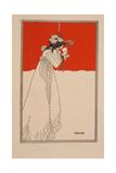 Isolde, 1890s Lámina giclée por Aubrey Beardsley