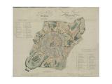 Map of Moscow, 1824 Giclée-Druck von Georges Lecointe De Laveau