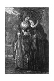Silver and Gold Giclee Print by Arthur Hughes