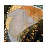 Danae, 1907 Giclée-Druck von Gustav Klimt