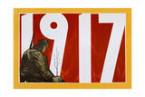 Soviet Propaganda Poster, 1917 Giclee Print