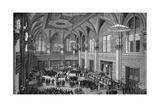 Floor of the New York Stock Exchange, 1885 Giclee-trykk