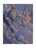 Svyatogor, 1942 Giclee-trykk av Nicholas Roerich