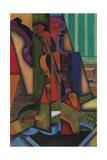 Guitar and Violin, 1913 Giclée-Druck von Juan Gris